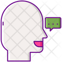 Word Of Mouth Mouth Referral Icon