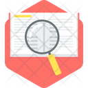 Word Search Magnifier Icon