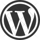 Wordpress Social Media Logo Icon