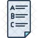 Words Letter Alphabet Icon