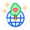 Wordwide Forestry Safe Icon