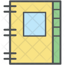 Work Diary Cover Icon