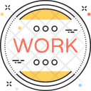 Time Stop Work Icon