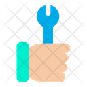 Wrench Hand Tool Icon