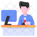 Work Working Buke Icon