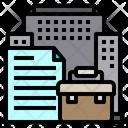 Briefcase Building File Icon
