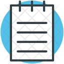 Work Diary Page Icon