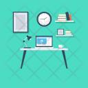 Work Studio Desk Icon