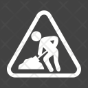 Work Progress Sign Icon