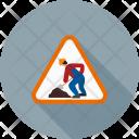 Work Progress Sign Icon