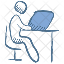 Business Place Job Place Office Icon