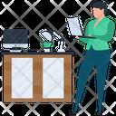 Work Assignment Online Assignment Online Homework Icon