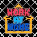 Work Home Freelance Icon