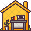 From Home Work Icon