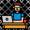 Freelance User Programmer Icon