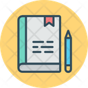 Work Book Notebook Assignment Icon