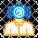Deadline Time Limit Icon