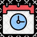 Work Deadline Calendar Event Icon