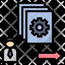 Job Work Employee Icon