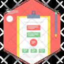 Work Flow Chart Algorithm Icon