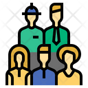 Work Force Labor Force Labour Icon
