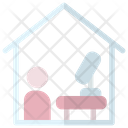 Work Form Home Icon