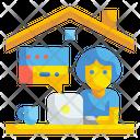Working Job Employee Icon