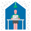 Avoid Pm Pm Work From Home Icon