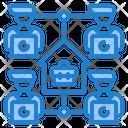 Network Work Worker Icon