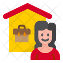 Work From Home Work Home Icon