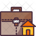 Bag Home Working Icon