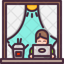 Chinese Food Home Lunch Break Icon
