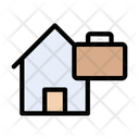 Portfolio Bag Home Icon
