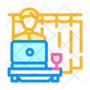 Working Home Color Icon