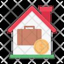 Office Portfolio Dollar Icon