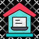 Work From Home Freelance Freelancer Icon
