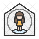 Work From Home Relax Home Icon