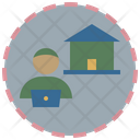 Work From Home Working At Home Pandemic Icon