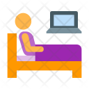 Work Bed Icon