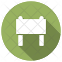 Border Boundary Barrier Icon
