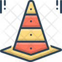 Cone Taper Traffic Cone Icon