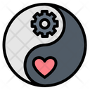 Work Life Yin Icon