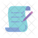 List Checklist Clipboard Icon