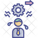 Work Load Over Time Duty Icon