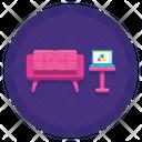 Work Lounge Icon