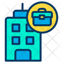 Office Building Building Business Hub Icon