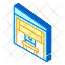 Office Garage Isometric Icon