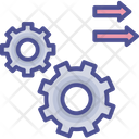 Work Processing Processing Activity Icon