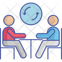 Work Refresh Business Meeting Meeting Icon