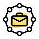 Work Relation Business Document Icon